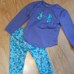 4t girls Under Armour outfit